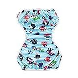 Schwimmwindel Baby Badewindelhose,COLORFUL Nette Muster Bademode Badehose Shorts für Neugeborene Kleinkind Baby Jungen Mädchen (0-24 Monate) (A)