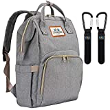 DYD Diaper Bag Backpack, Large Multifunction Baby Nappy Changing Backpack Stylish Travel Back