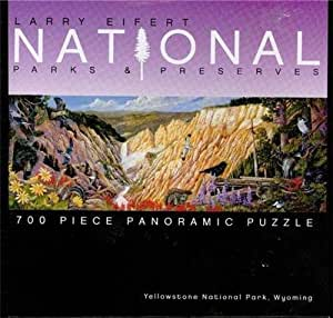 Larry Eifert National Parks & Preserves 700-Piece Panoramic Puzzle - Sugar Pine Point, Lake Tahoe, California by Ceaco