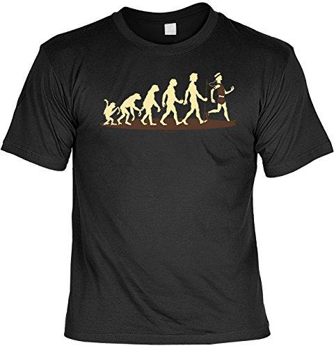 Sport/Spaß-Shirt/Fun-Shirt/Rubrik lustige Sprüche: Homo Stupidus: Jogger - geniales Geschenk Schwarz