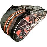 Thrax PX01 Badminton Kit Bag Grey and Orange
