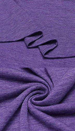 Bluetime -  Maglia a manica lunga  - Donna Purple