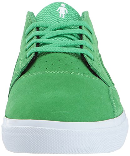 Lakai Ms317 Griffin Grey Suede Green Suede