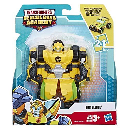 TRANSFORMERS RESCUE BOTS Playskool Heroes Academy Bumblebee