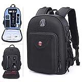 Smatree Zaino per fotocamera SLR e accessori,borsa trasporto per Nikon D3400 / D7200/D3300 /Canon EOS 4000D/ Sony Alpha 6000/ GoPro Hero 2018 /Hero 7/6/5/4/3/2 Black, iPad Pro, iPad 2018, iPad Mini