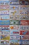 Fabbri - n°10 - Plaques américaines, 31x 16cm, reproduction