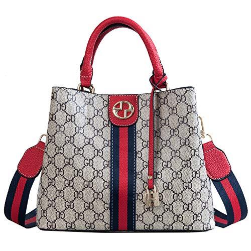 LFGCL Bags womenPrinted Handtaschenmode Umhängetasche, rot