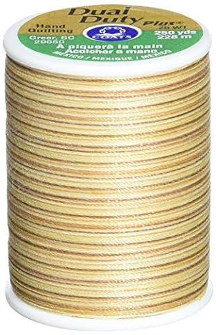 Double Duty Plus main Quilting multicolore fil 250 verges-nuances de grès
