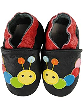axy Baby Lederschuhe Lauflernschuhe Krabbelschuhe Babyschuhe Kindergartenschuhe - Raupe