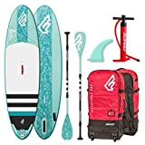 Fanatic Diamond Air Inflatable 9.8 SUP isup Stand up Paddle Board Komplett Set