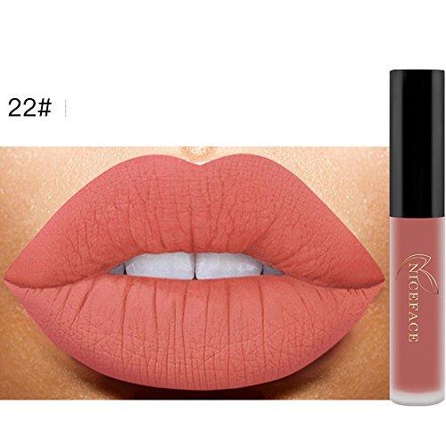 Nouveau Mat Rouge Liquide Lèvres Étanche Brillant À Lèvres Maquillage 14 Nuances trada Mode Rouge à Lèvres Cosmétiques Femmes Sexy Métallique Brillant à Lèvres