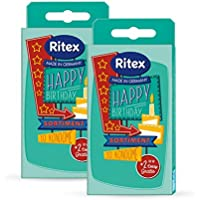 Preisvergleich für Ritex HAPPY BIRTHDAY, Kondom Mix-Pack, 24 Stück, Made in Germany