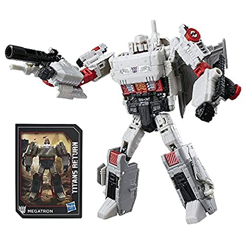 Transformers : Generations - Titans Return - Doomshot & Megatron - Figurine Transformable 17 cm