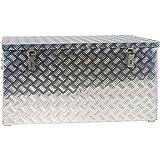 Alluminium Riffelblech-Box Alu 250 Liter ALUT250 L 1022 x B 500 x H 500 mm