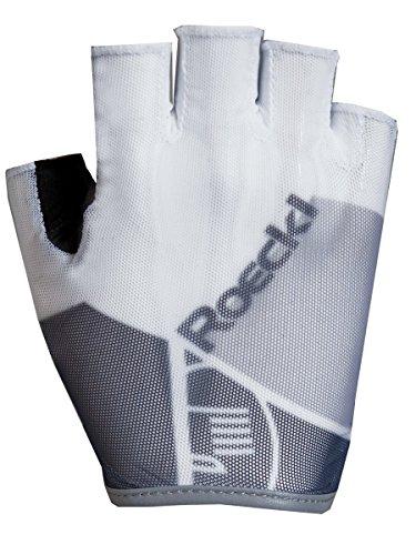 Roeckl Isola Fahrrad Handschuhe kurz weiß/grau 2017: Größe: 9.5