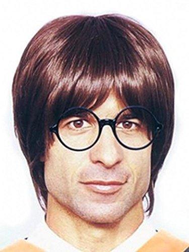 Harry Potter Zubehör Brille oder Perücke für Erwachsene Zauberer Magier Zauberlehrling, (Harry Komplette Potter Kostüme)