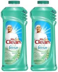 Mr. Clean Multi-Purpose Liquid Cleaner - 24 oz - Meadows & Rain by Mr. Clean