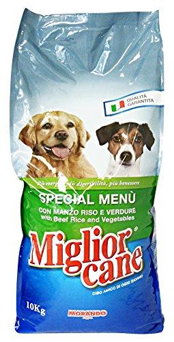 MIGLIOR CANE 10 kg.secco special menu manzo/riso/verd. - Cibo per cani