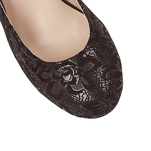 Lotus Clancy Womens Scarpe Décolleté Black Floral Print