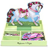 Melissa & Doug My Horse Clover Magnetic Wooden Dress-Up Doll