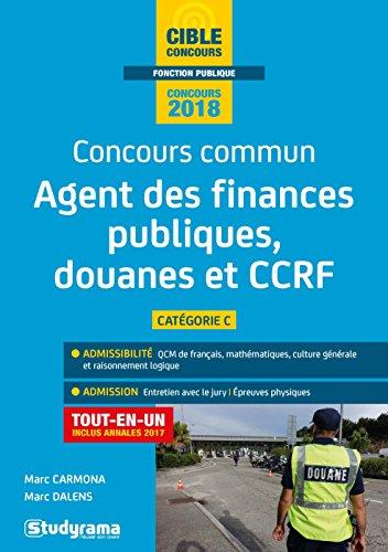 Concours commun agent des finances publiques, des douanes et CCRF