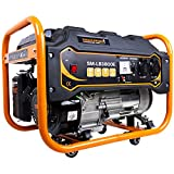 Strahlemann 3300 Watt Benzin-Stromerzeuger Stromaggregat Notstrom Generator 230V...