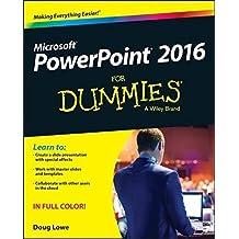 PowerPoint 2016 For Dummies (Powerpoint for Dummies) by Doug Lowe (2015-10-19)