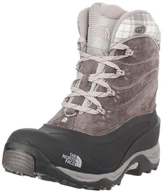 The North Face Womens Chilkat II Snow Boots T0AWMTRD5 Dark Gull Grey/Black 4 UK, 37 EU, 6 US Wide