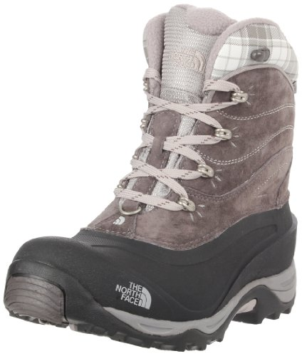 THE NORTH FACE Chilkat 2 T0AWMTRD5, Damen Snowboots, Grau (dark gull grey/black), EU 37 (US 6) (Unisex-eco-fleece)