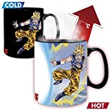 ABYstyle E1051702 Dragon Ball-Mug Heat Change-460 ML-Goku VS Buu, Céramique, Multicolore, Standard