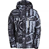 Billabong All Day – Chaqueta de snowboard Chaqueta, todo el año, unisex, color tye die black, tamaño large