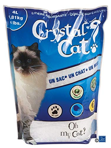 4l Crystal (Litière Crystal Cat 4L)