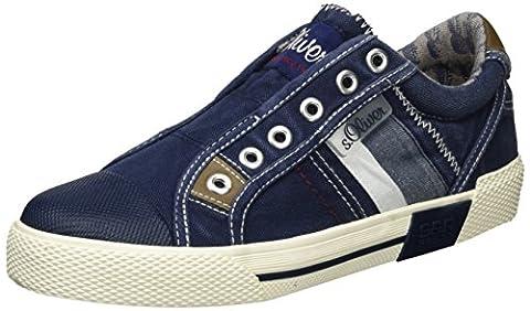s.Oliver Jungen 54106 Low-Top, Blau (Navy 805), 38