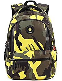 Waterproof Camouflage Boys Backpack For School Kids Backpack School Bags Bookbags For Boys By Besthome Fashion - B074Z2LDSX