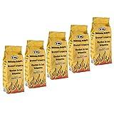 Premium Holzkohle Grillbrikets Grillkohle in 15 und 30 Kg Gebinden