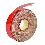 beler rosso 5m x 1cm adesivo universale cerchio riflettente autoadesivo adesivo nastro adesivo decalcomania