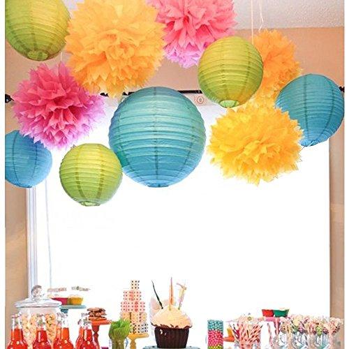 sunbeauty-lot-de-11-couleur-melangee-pompon-papier-de-soie-lanterne-pour-decorations-de-parti-mariag