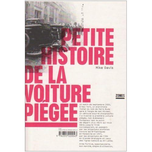 PETITE HISTOIRE DE LA VOITURE