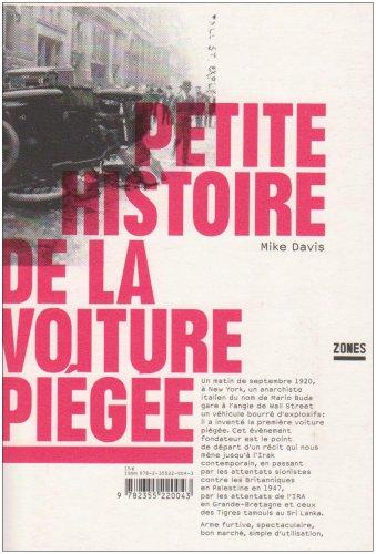 PETITE HISTOIRE DE LA VOITURE par MIKE DAVIS