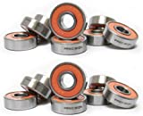 SET OF INLINE SKATE Roller Bearings PREC...