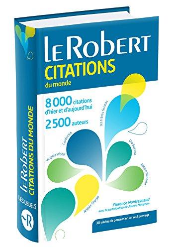 Dictionnaire de citations du monde - Version Poche Plus