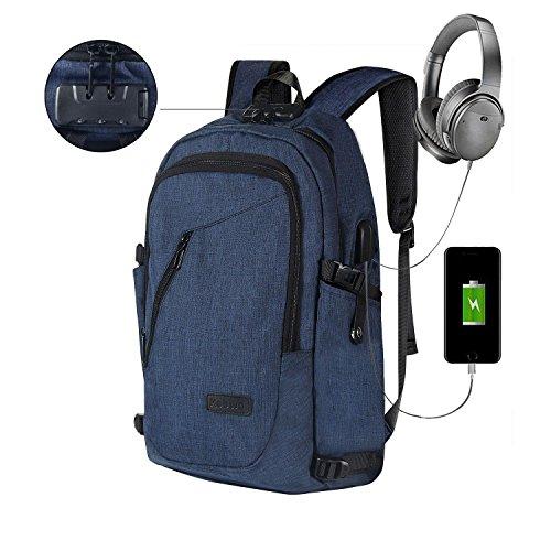 Sac à Dos Ordinateur Portable D'affaires, Kobwa 15.6
