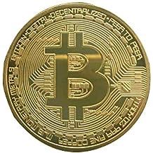 GAOHOU® Collezione della moneta del Bitcoin in oro placcato Collezione d'Arte Moneta