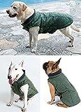 UMALL Hundemantel Winter Wasserdicht für Große Hunde und Kleine Hunde hundekleidung Reflektor Warm Hundejacke