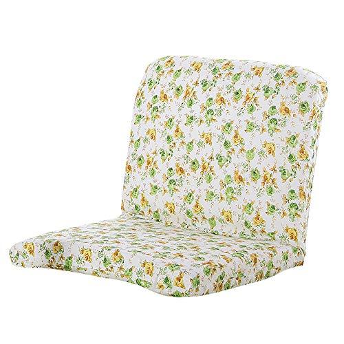 XINGZHE Klappbarer Lazy Sofa Chair - Klappstuhl mit Verstellbarer Rückenlehne, halb faltbar, Lazy Recliner Blue & Pink Sitzsack Stühle (Color : Green)