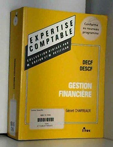 Manuel de gestion financiere decf/descf 5e ed.1996 (ancienne édition)