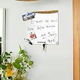 SoBuy® pizarra magnética, pared pizarra, pizarra de espejo, FRG46,ES