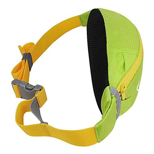 Multifunktions-Outdoor-Sport-Taille Tasche, Running Taille Tasche, Anti-Diebstahl Handy-Tasche, Männer Outdoor-Sport, Laufen, Radfahren, Wandern, Reisen, Fitness, Arbeit Taille Tasche Black