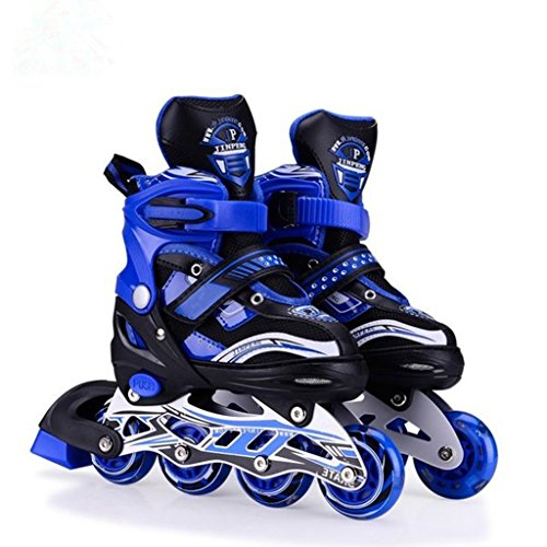 Hoteon Inline Skates size adjustable all pure PU wheels it...