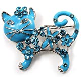 Broche Email Chat Bleu Russe